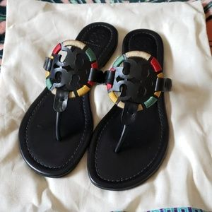 TORY BURCH Miller Limited Edition Sandals Size 8